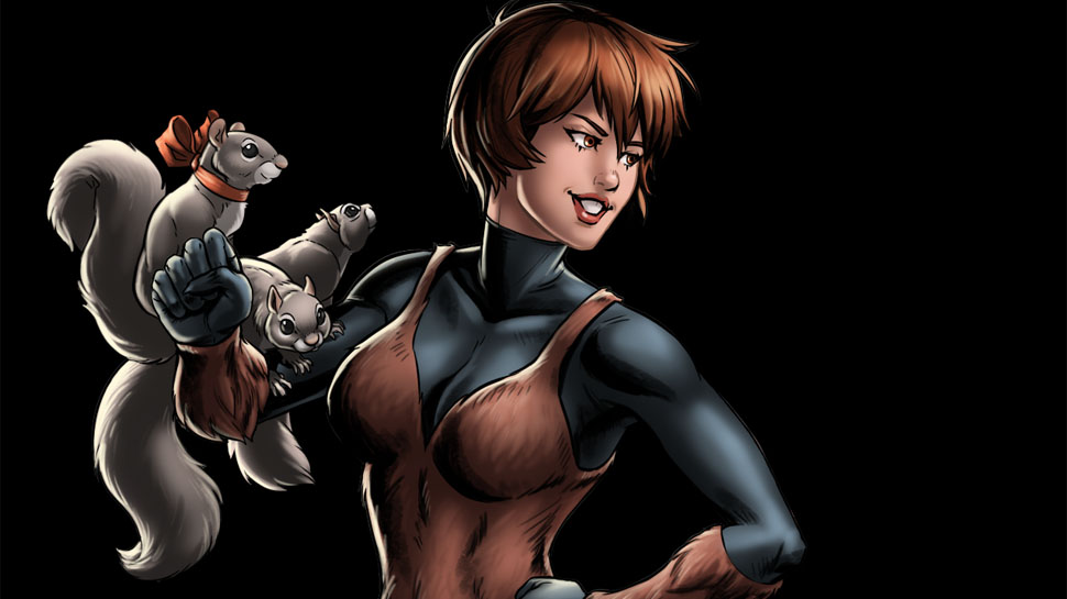 Image result for squirrel girl marvel