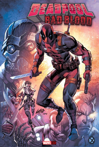 Deadpool Bad Blood Cover