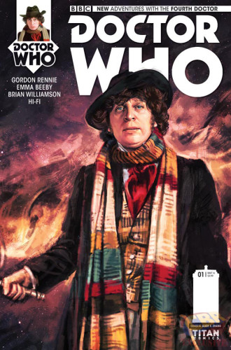 Doctor Who Fourth Doctor Cover
