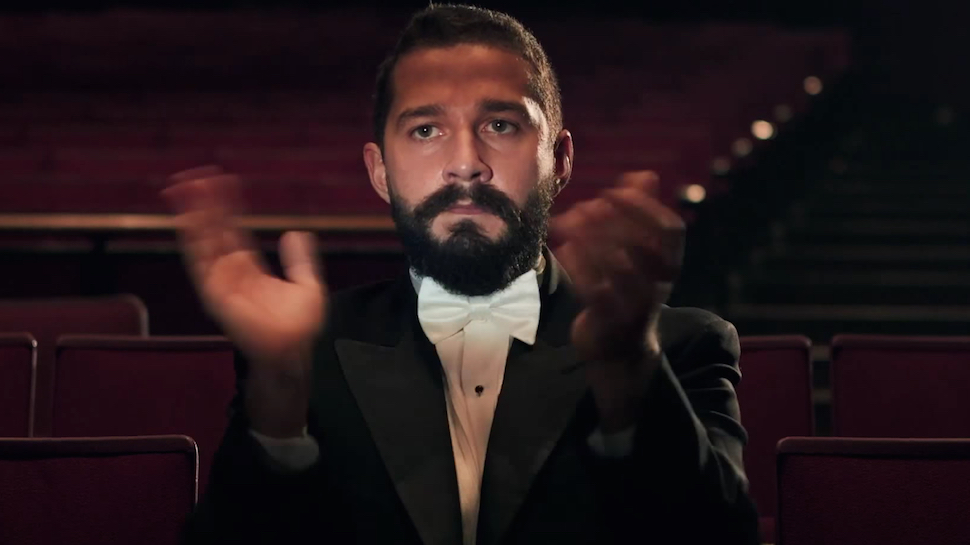 Shia LaBeouf is Watching All His Movies Right Now (and You Can Join Him)