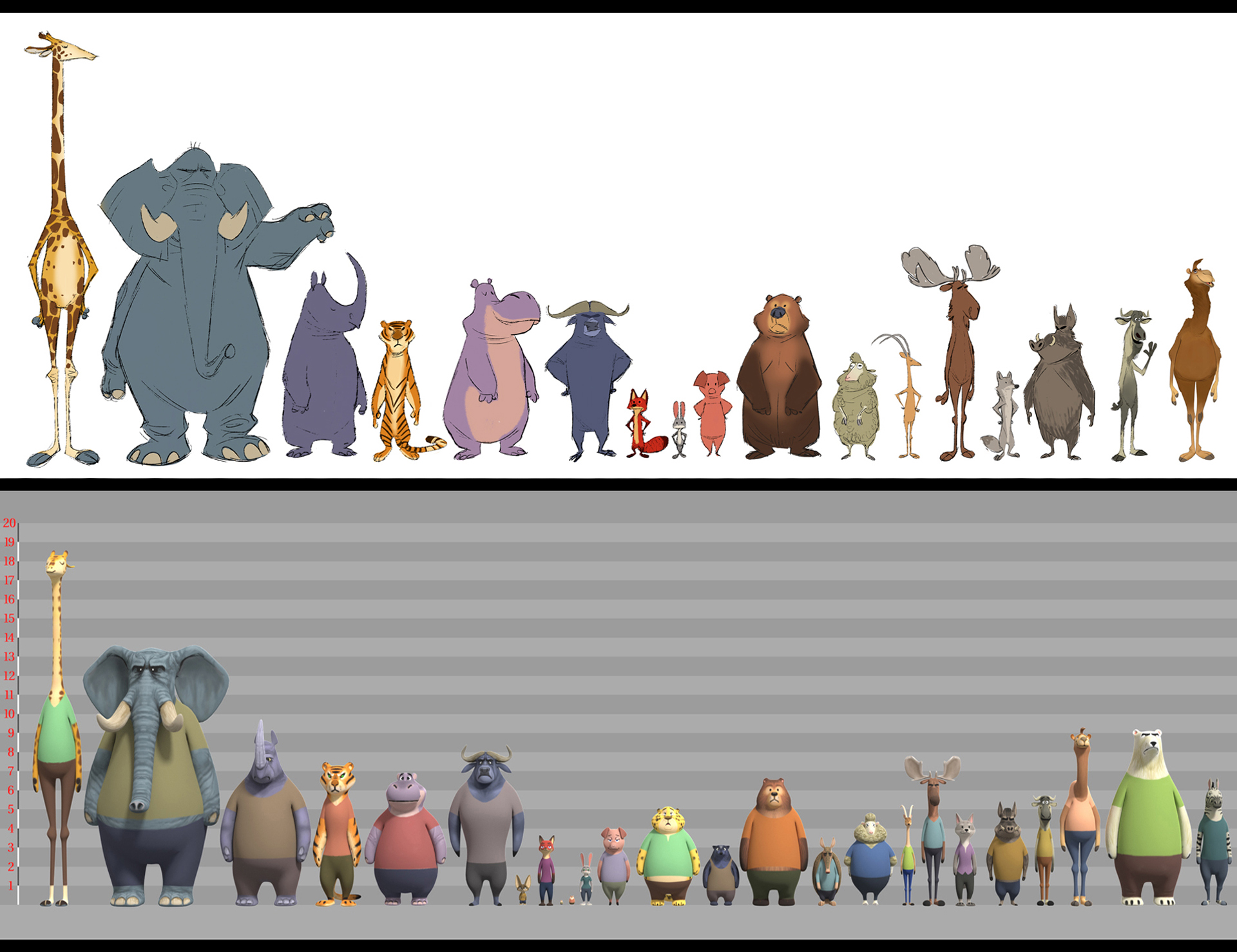 3d Character Design Books : Meet the walking talking mystery solving animals of