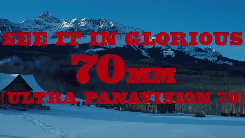 THE HATEFUL EIGHT: An Explainer on 70MM Film