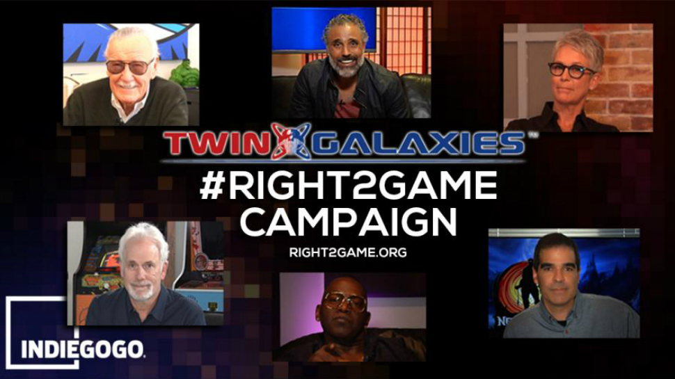 Stan Lee, Jamie Lee Curtis, and More Team Up for Twin Galaxies' #RightToGame