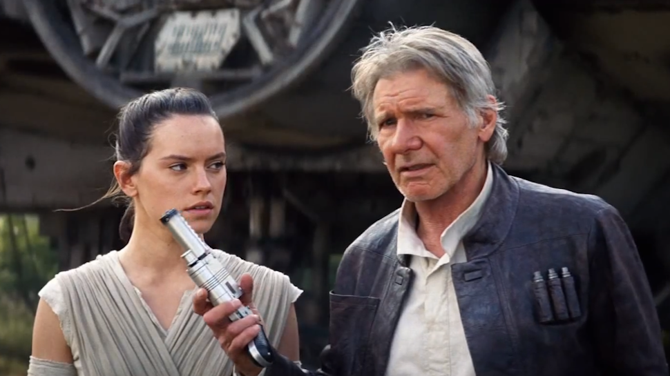 Movie Morsels: Harrison Ford's Message For Anyone Spoiling THE FORCE AWAKENS