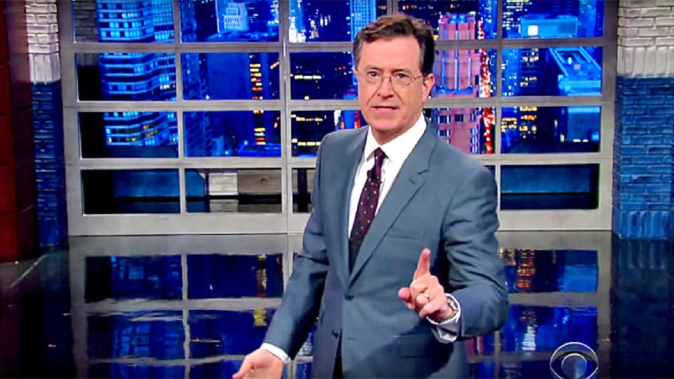 Stephen Colbert Live-Tweets Horrible (Fictional) New Year's Eve