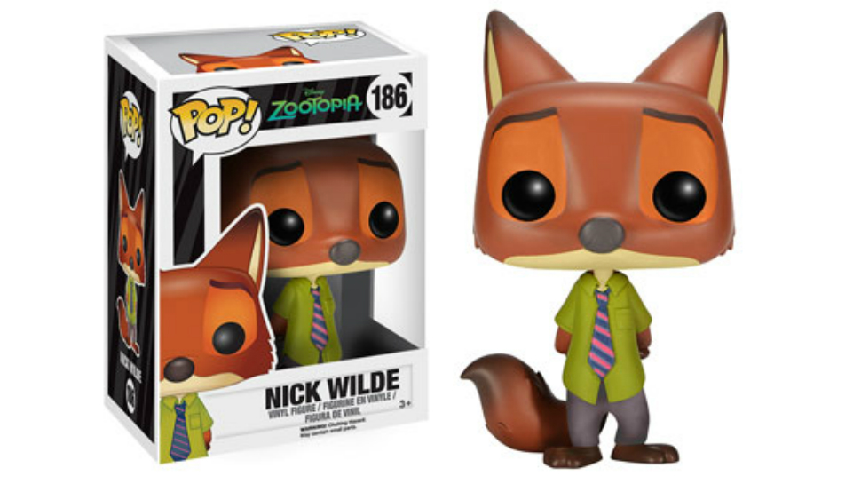 Funko Adds ZOOTOPIA Pop! Vinyls and Mystery Minis to Collection