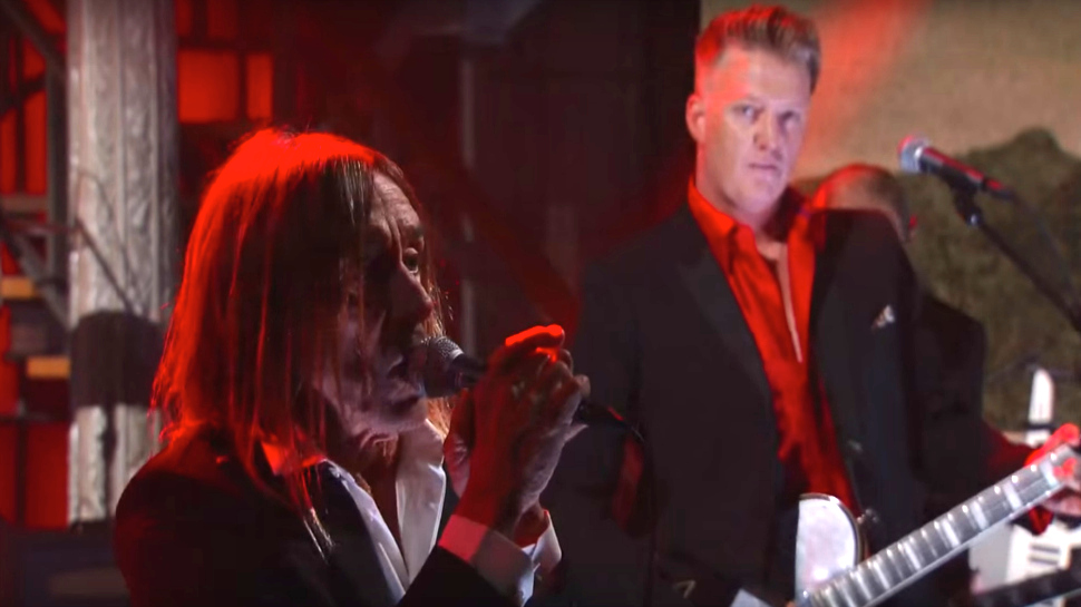 Iggy Pop and Josh Homme Debut New Collaboration on COLBERT