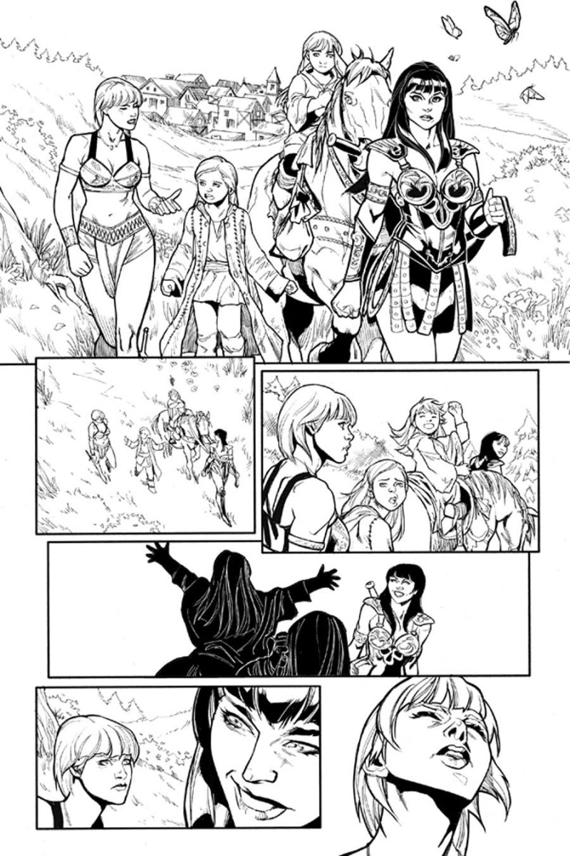 Xena preview page 2