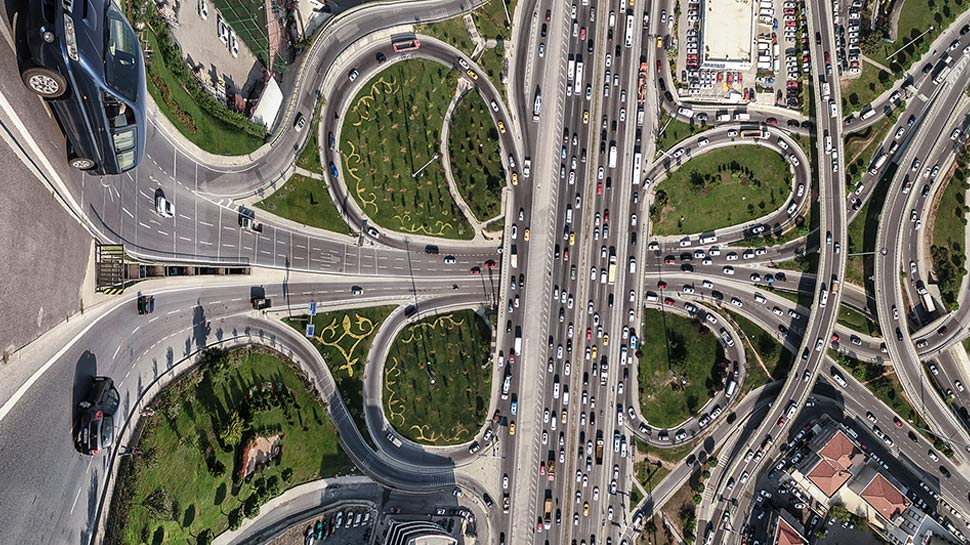 FLATLAND-Style Images of Istanbul Take Us to Another Dimension