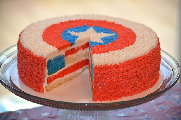 Captain America Surprise Cake-02292016