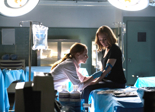 THE X-FILES: L-R: Guest star Lauren Ambrose and Gillian Anderson in the ÒMy Struggle IIÓ season finale episode of THE X-FILES airing Monday, Feb. 22 (8:00-9:01 PM ET/PT) on FOX. ©2016 Fox Broadcasting Co. Cr: Ed Araquel/FOX