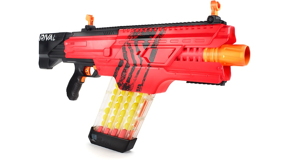 Get Your Goggles! Nerf Gun is Fully Automated and Shoots 68 MPH