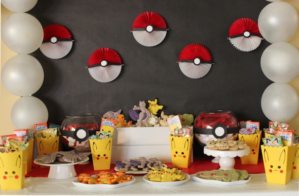 Decor Pokemon Gateau