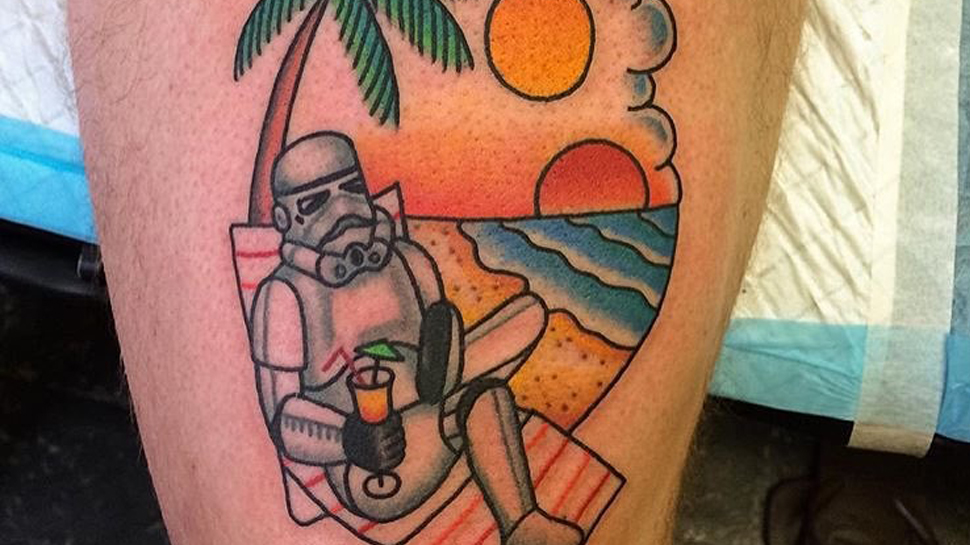 Inked Wednesday #77 – Vacationing Stormtrooper, THE WALKING DEAD, and More