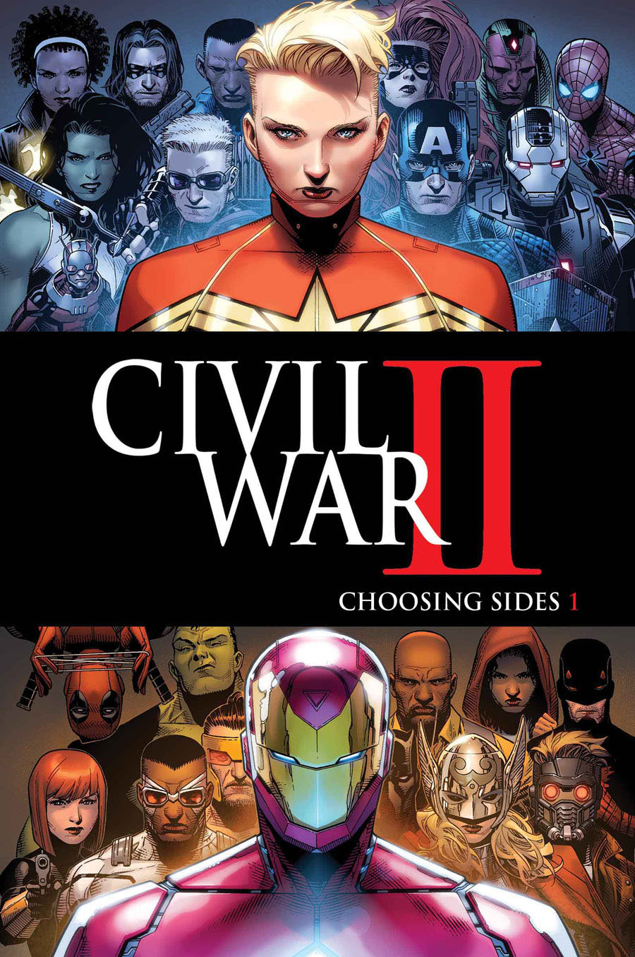 Marvel Unveils Its CIVIL WAR II Tie-Ins : Nerdist