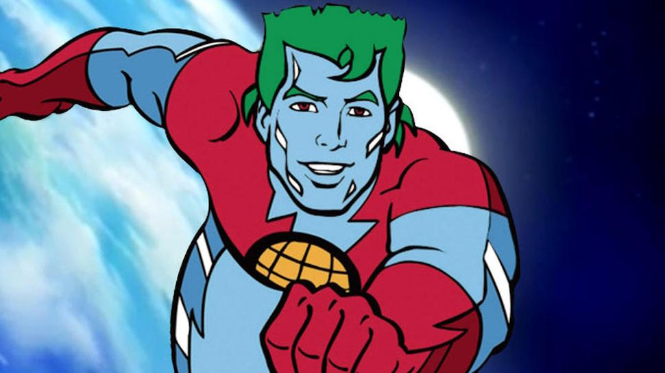 What Skin Condition Did Captain Planet Have?
