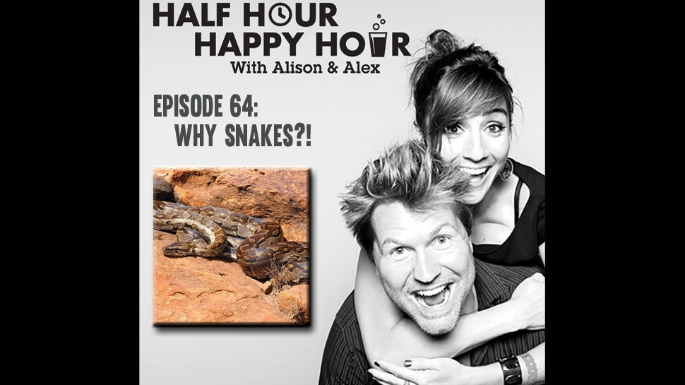 Half Hour Happy Hour #64: Why Snakes?!