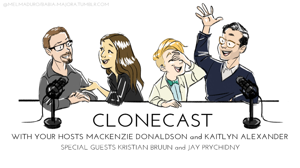 Clonecast #16: Jay Prychidny, Kristian Bruun, and Alicia Lutes