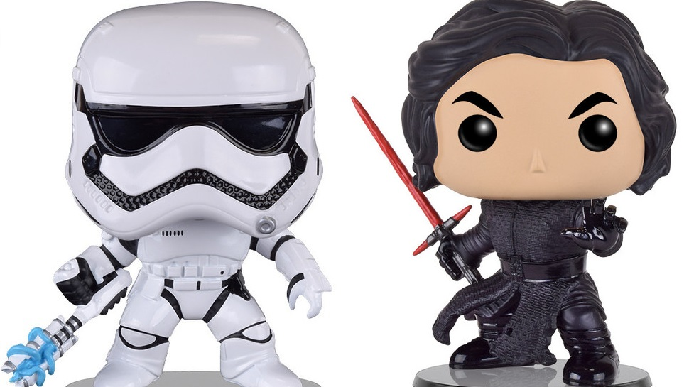 New STAR WARS Classic and THE FORCE AWAKENS Funko POPs