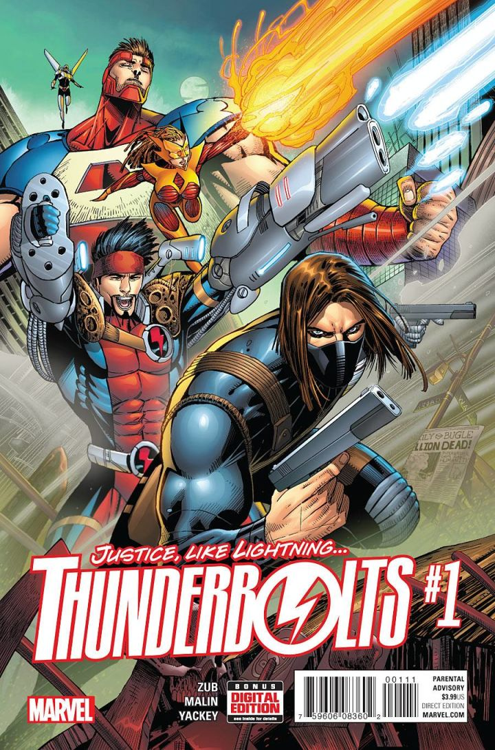 Thunderbolts 1 Cover
