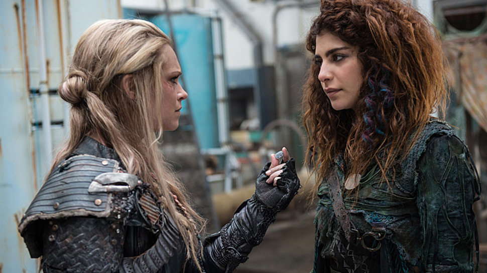"THE 100 Recap: ""Red Sky at Morning"" Pits ALIE Vs. Skaikru"