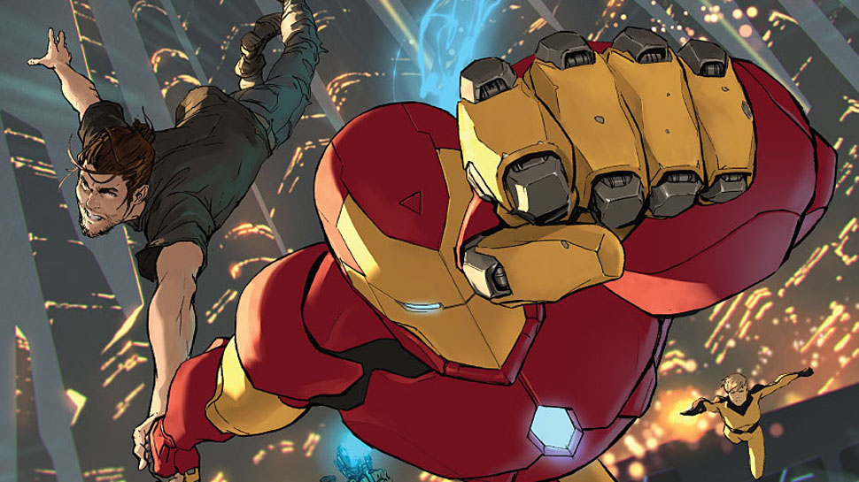 CIVIL WAR II #2 Escalates Tensions for Iron Man (Review)