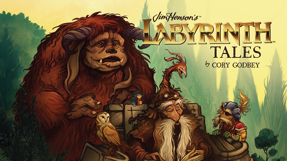 Look Inside Archaia's New Children's Book, JIM HENSON'S LABYRINTH TALES (Exclusive)