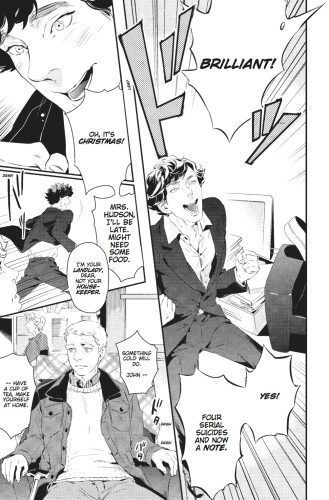 Sherlock_Manga Preview 2