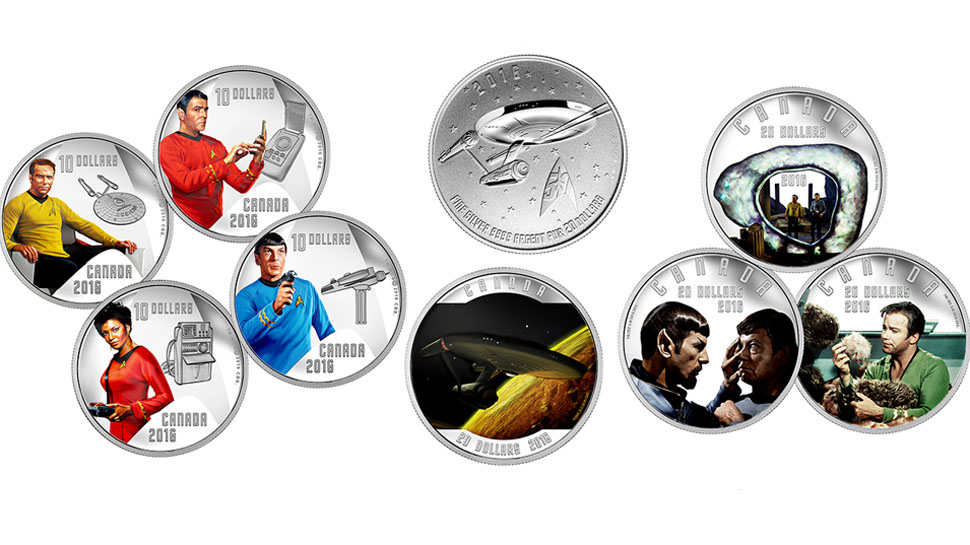 STAR TREK Money Is Now Legal Tender in Canada