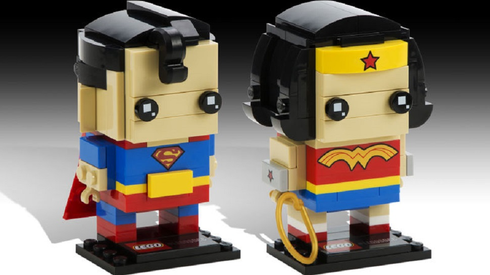 New LEGO BrickHeadz Marvel and DC Buildable Figures Coming to SDCC