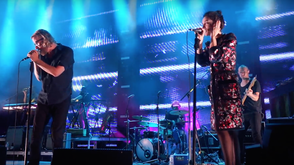 St. Vincent and the National Debuted A New Song Last Night