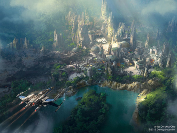Star Wars Land New Concet Art