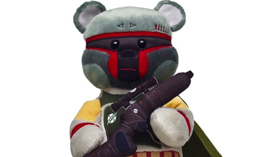 Newest STAR WARS Build-A-Bear Is an Adorable Boba Fett