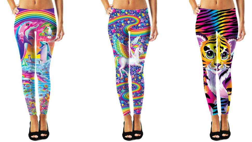 Rejoice! You Can Now Buy LISA FRANK Leggings (and More!)