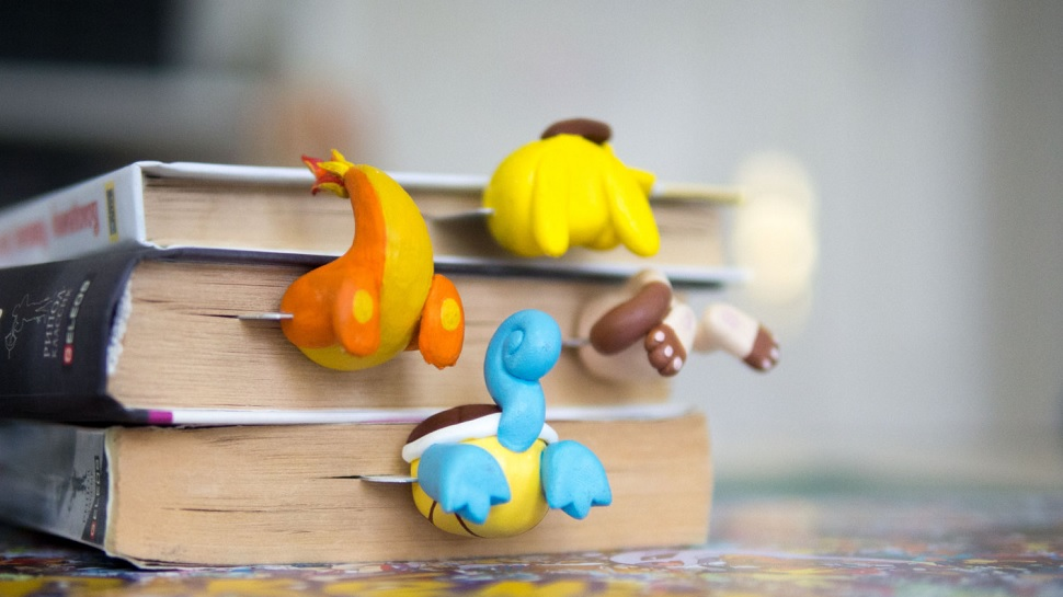 POKEMON-Inspired Butt Bookmarks Are Real and You Want Them