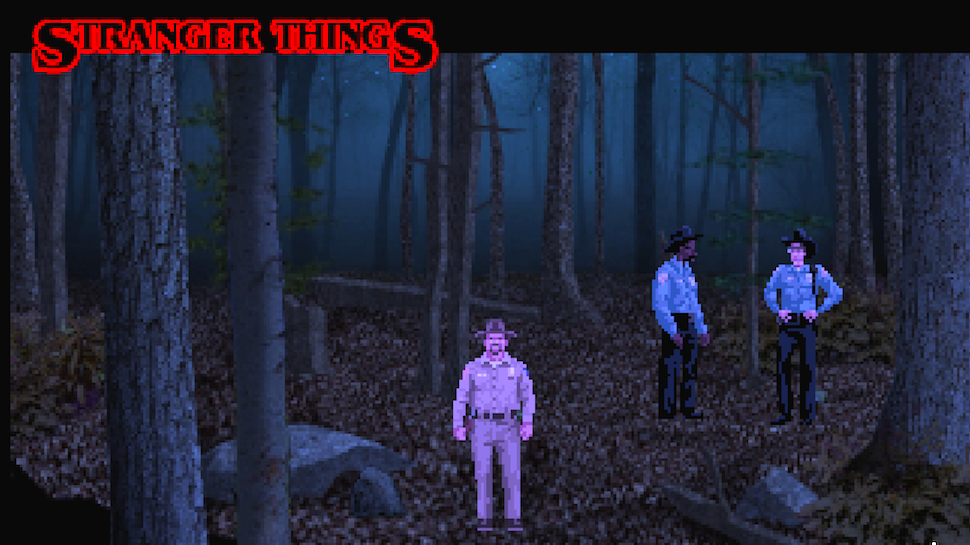 STRANGER THINGS Gets a Stylized '80s Adventure Game You Can Play