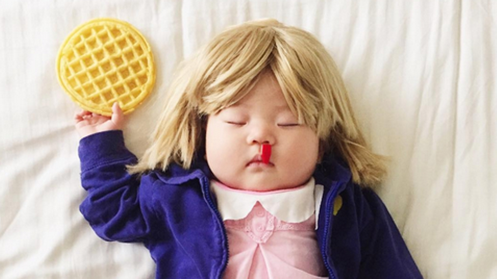 This Baby's STRANGER THINGS and MAD MAX Cosplays Win Naptime