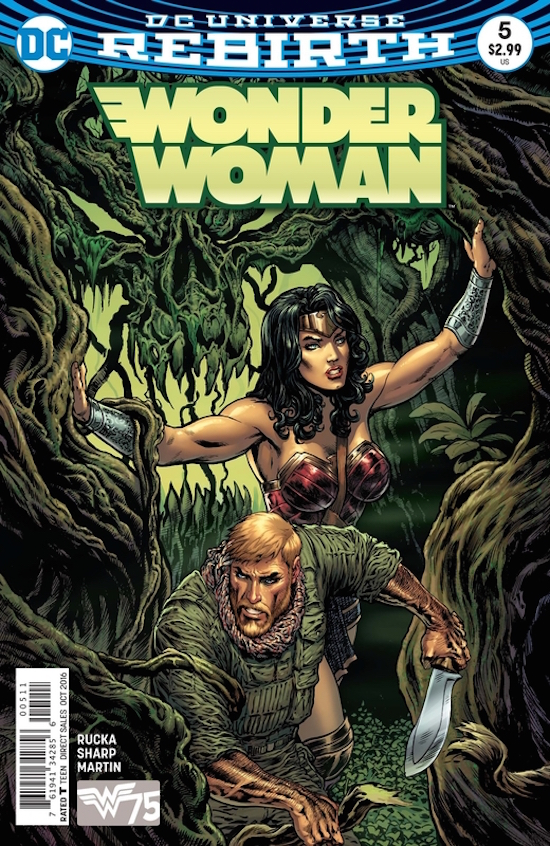 Wonder Woman #5 from DC Comics