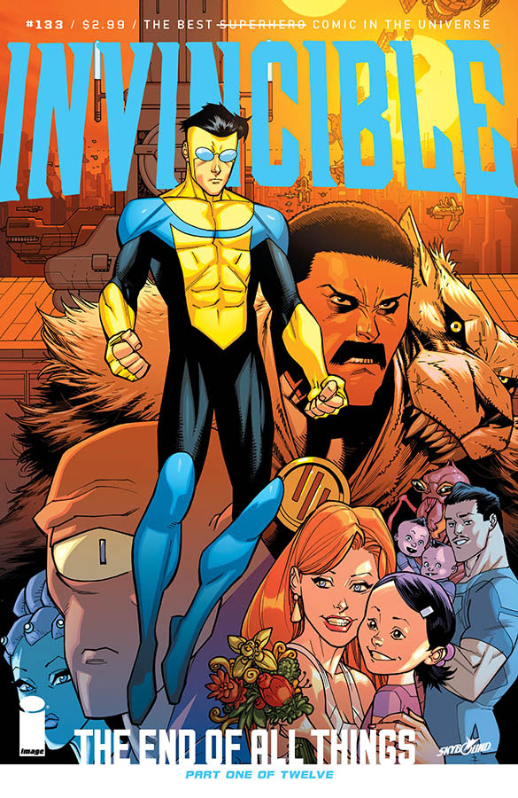 Invincible #133 from Image comics