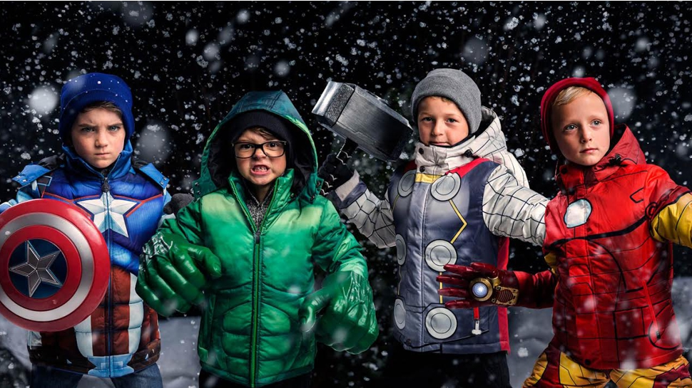 Superhero Ski Jackets Have Us Wishing for Snow