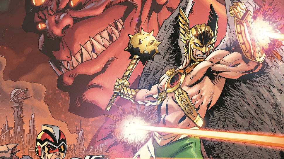 DC Announces THE DEATH OF HAWKMAN Mini-Series