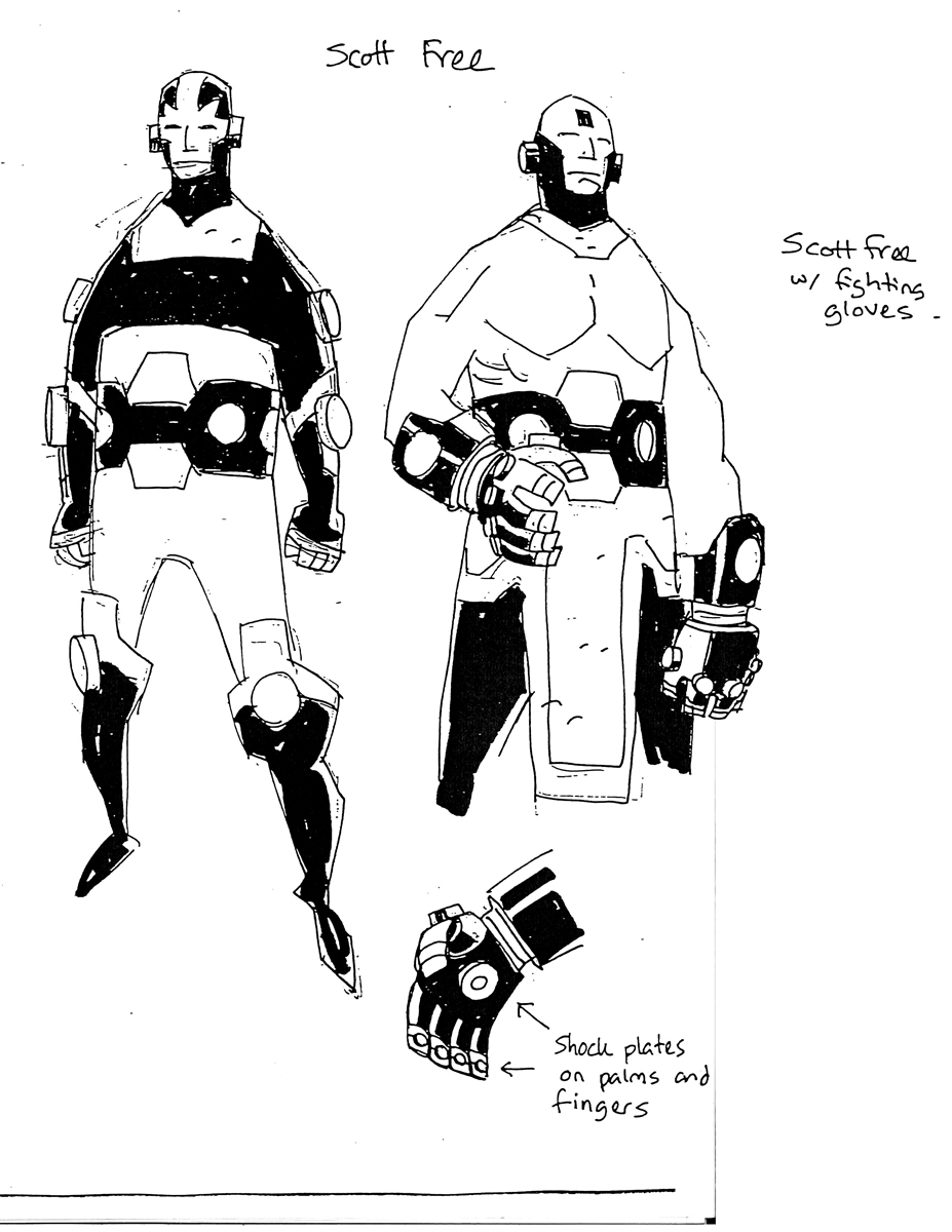 Mr Miracle 1 by Mike Mignola