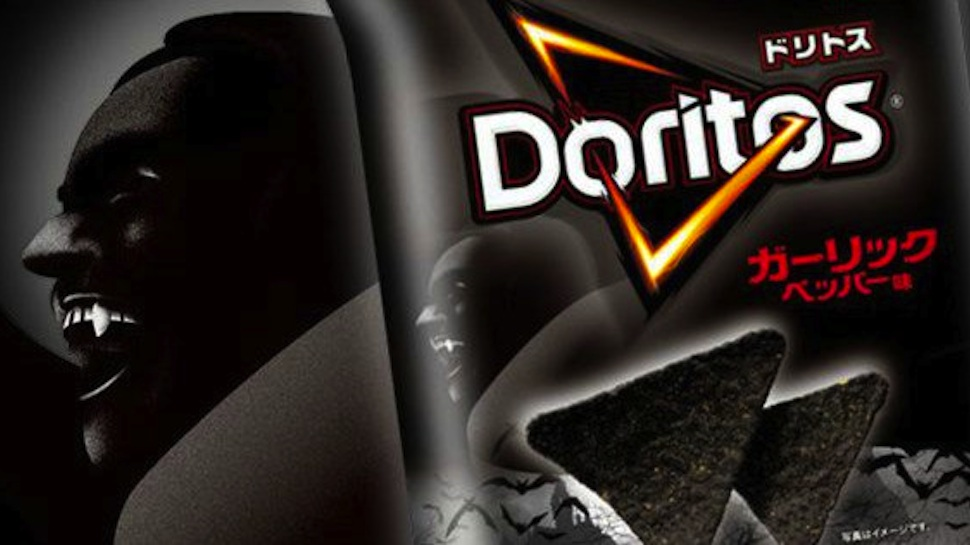 Japan's Black Garlic Doritos Are Your New Vampire Repellent