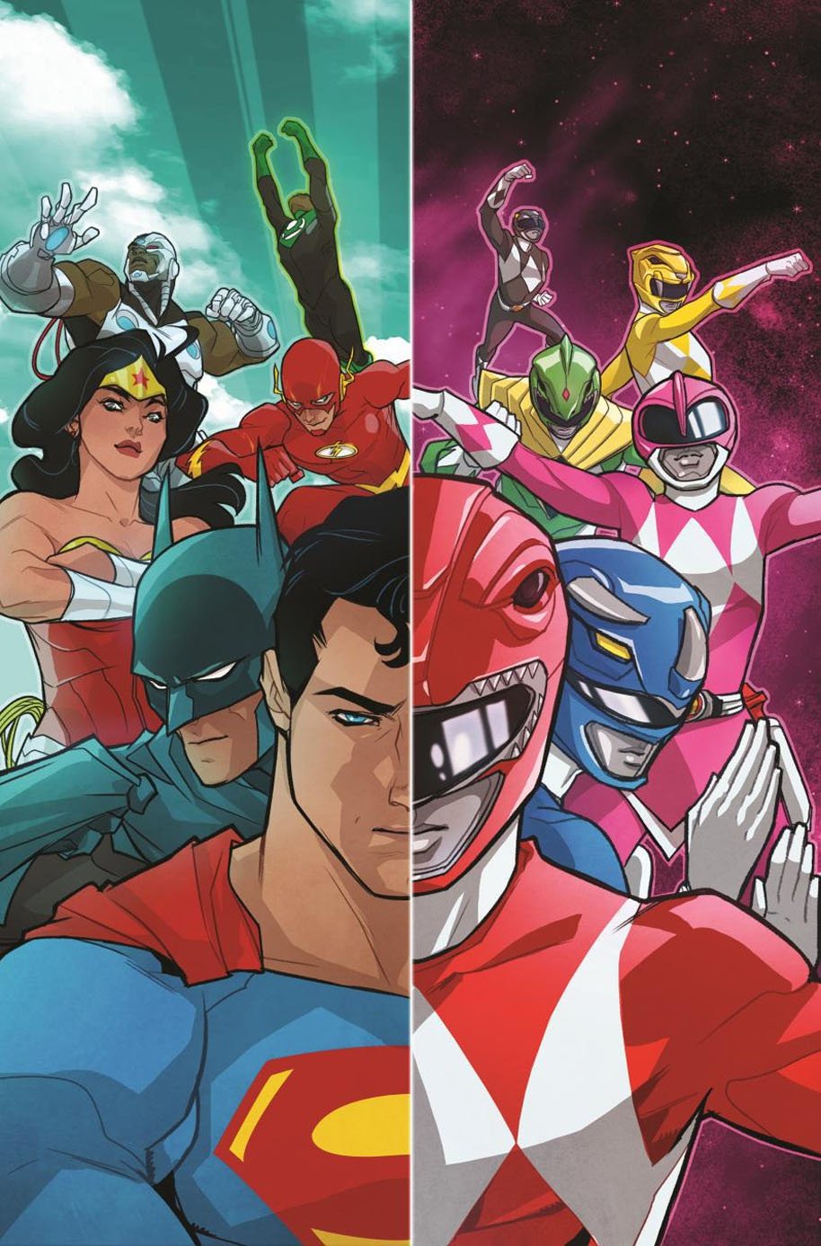 justice-league-power-rangers-cover