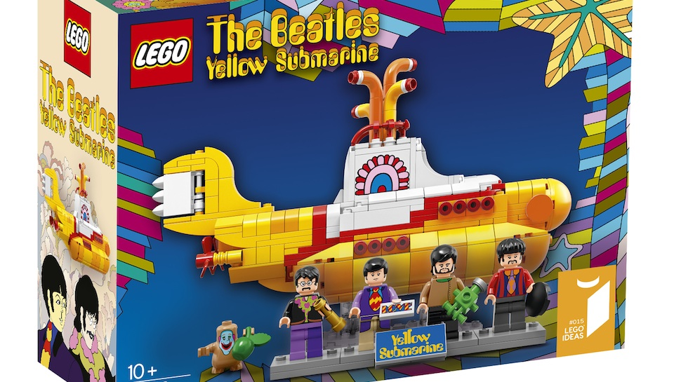 THE BEATLES' YELLOW SUBMARINE Will Live in Your House with New LEGO Set