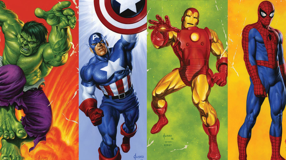 Marvel Pays Homage to the Past with Retro Painted Variant Covers