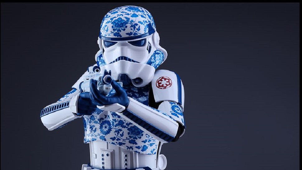 Tea up Your Hot Toys Collection With a Faux-Porcelain STORMTROOPER