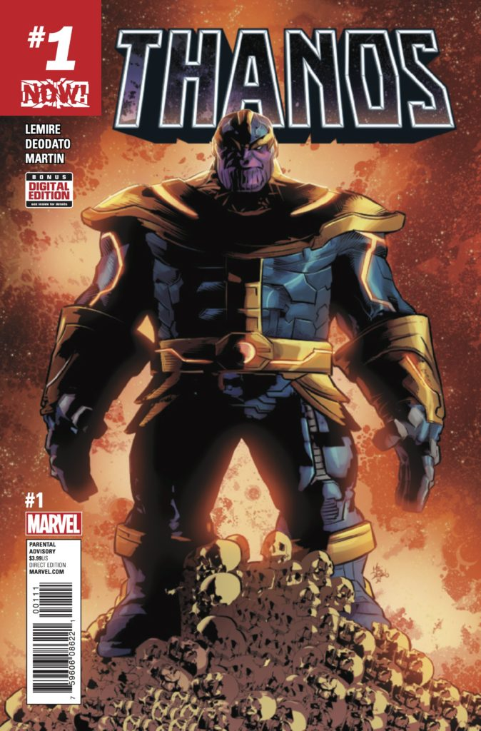 Thanos #1 from Marvel Comics