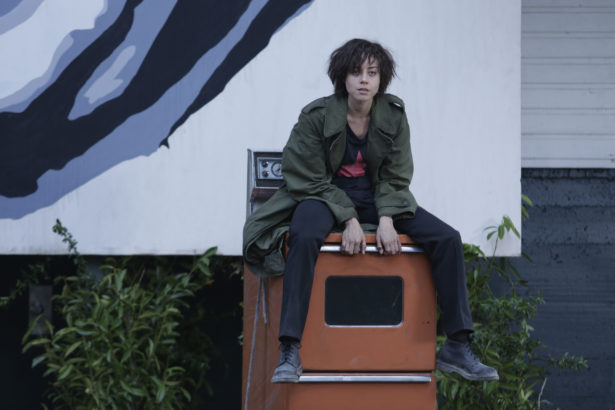 "LEGION -- ""Chapter 2"" (Airs Wednesday, February 15, 10:00 pm/ep) -- Pictured: Aubrey Plaza as Lenny ""Cornflakes"" Busker. CR: Michelle Faye/FX"