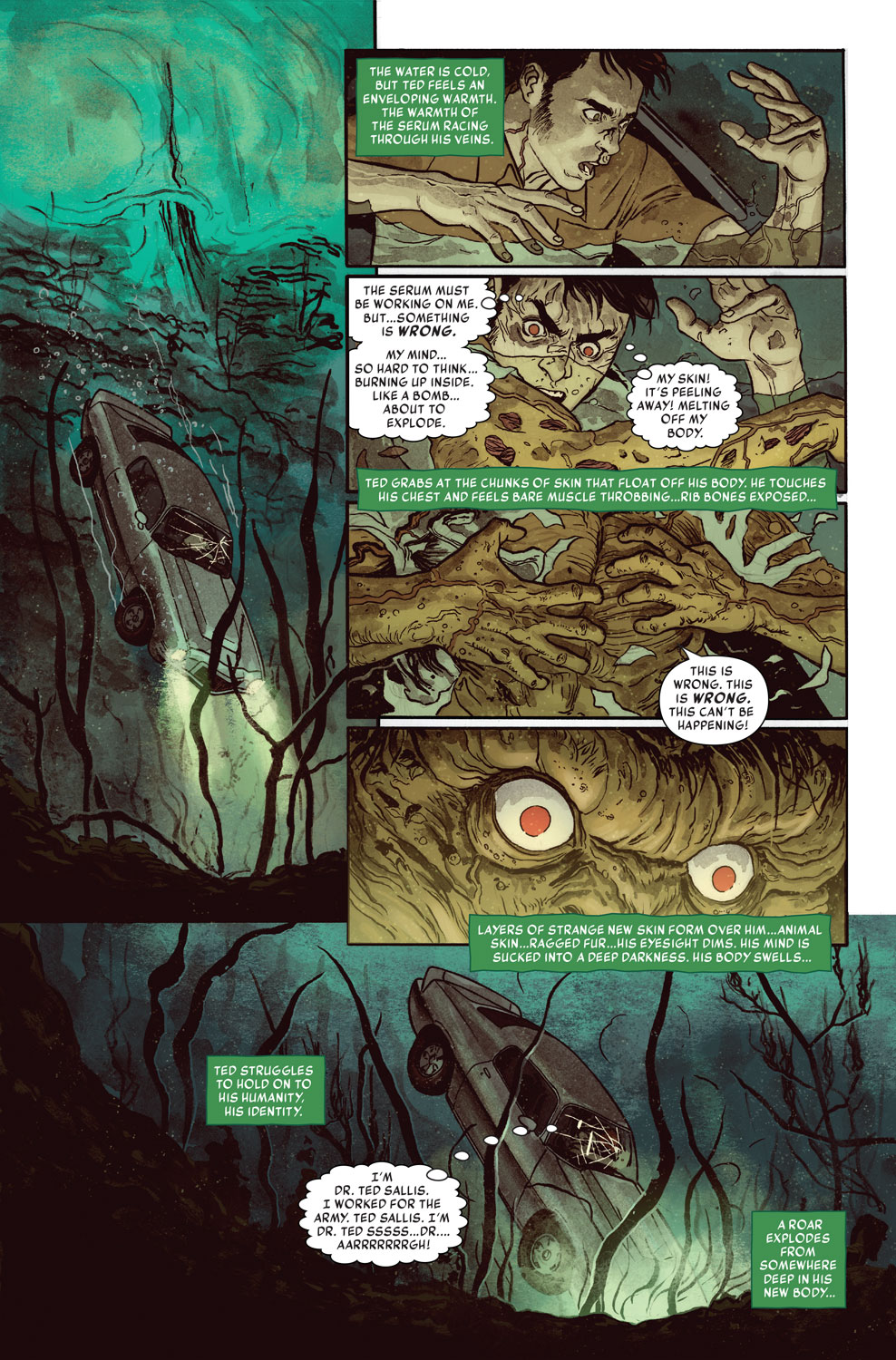 Man-Thing 1 Preview 2